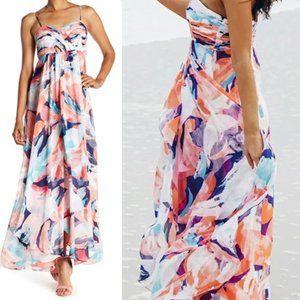 Laundry by Shelli Segal Multi-Color Maxi Dress